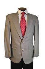 $1595 Southwick Black/Cream Glen Plaid 2 button  Sport Coat size 40R C153