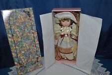 Doll Collection Carina Porcelain in Its Original Box / 42 CM