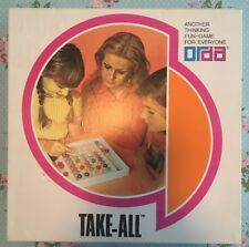 Rare 1980s Take All Orda Retro Vintage Board Boxed Game Set with Instruction