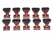 NOS Ford Lincoln Mercury Front Windshield Rear Window Molding Trim Clips 10pc OT