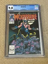 Wolverine 1 CGC 9.8 White Pages (First Solo Series!!)