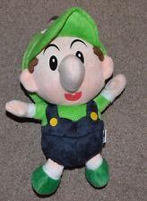 NWOT Baby Luigi Mario Bros San-ei Plush Toy Stuffed Animal 6'' NES