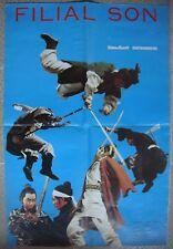 Kung Fu FILIAL SON Japan India Manila Film. Lebanese Movie Poster 58x87cm 70s