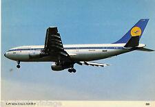 Postcard 292 - Plane/Aviation 330 Lufthansa Airbus A300B-2