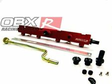 OBX Red BILLET FUEL RAIL 02-06 ACURA RSX K20A K20A2 K20Z1 & Civic SI