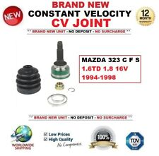 FOR MAZDA 323 C F S 1.6TD 1.8 16V 1994-1998 NEW CONSTANT VELOCITY CV JOINT KIT