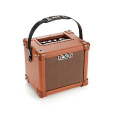 Portable Acoustic 10W Amp Speaker Box with Microphone Interface by AROMA