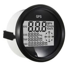 Universal GPS km/h speedometer MPH SOG COG ODO TRIP Meter Stainless steel bezel