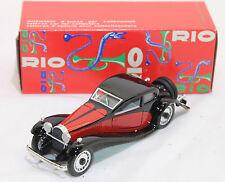 RIO 1:43 MADE IN ITALY AUTO DIE CAST BUGATTI 5000 CC MODELLO T 50 1932 ART 48