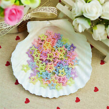 Hot DIY100pcs Mix Stars Resin Flatback Scrapbooking Phone Case Hair Bow Charm
