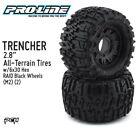 "PRO-LINE RACING TRENCHER 2.8"" Tires w/Raid 6x30 Wheels (2) (M2) PRO117010"