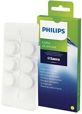 Philips Cleaning Tablets Espresso Machine 6 pcs CA6704/10 Descaler