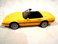 Franklin Mint 1986 C4 Yellow Chevrolet Corvette