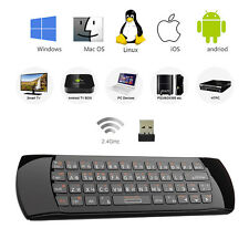 2.4G i25 Mini Wireless Russian Keyboard Air Mouse Remote For Android TV Box HTPC