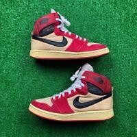 OG 1985 Nike Air Jordan 1 AJKO Chicago Red White Rare Vintage 85 8.5 Bred Royal