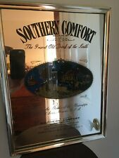 Vintage Southern Comfort Bar Mirror
