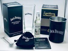 JACK DANIELS TALL GLASS & LYNCHBURG LEMONADE COCKTAIL KIT - BNIB LYNCHBERG