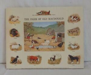 Pair of Vintage Prints On Wood Ready To Hang Printed 1993. PRELOVED Free Postage