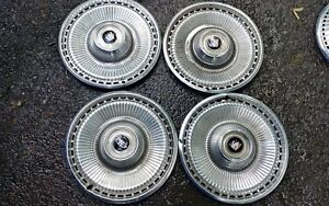 1971 1972 1973 Buick LeSabre 15 Inch Hubcaps wheel covers Classic set of 4