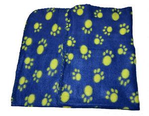 Fleecedecke Hundedecke Katzendecke Tierdecke Hund Decke Fleece 65,5 x 60 cm blau