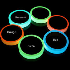 1piece Glow in The Dark Adhesive Strip PVC Neon Tape Tow Sizes Four Colors Blue 2cm*1m