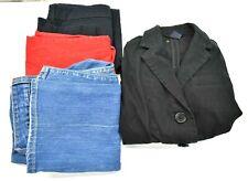 Gap & Old Navy Women's Size 6 Denim Jeans, Blazer Jacket, & Dress Pants Lot of 4