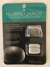 NuBrilliance Fine Diamond Tip & 10 Replaceable Filters