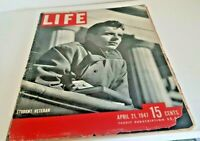 April 21, 1947 LIFE Magazine old ads Ad 1940s Advertising FREE SHIP news 4  23