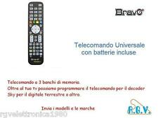 Telecomando TV compatibile universale per UNITED Bravo Techno 3 con pile incluse