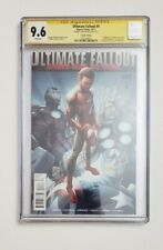 Ultimate Fallout #4 2nd Print CGC 9.6 Signed Sara Pechilli First Miles Morales