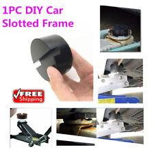 Black DIY Car SUV Slotted Frame Rail Hydraulic Floor Jack Disk Rubber Pad mini o