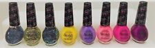 8 Lot Nicole by OPI Selena Gomez Nail Polish Glitter O.P.I. ~ Full size Bottles