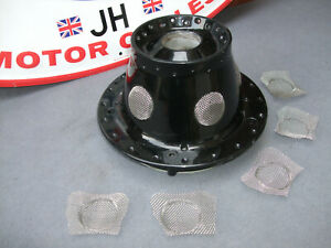 """z """"MANX"""" look, Cafe Racer REAR Conical hub SS steel wire mesh/grillex5 €FF JLY21"""