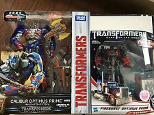 TAKARA Transformers DA24 Fireburst Optimus Prime & TLK-15 Calibur Optimus Prime