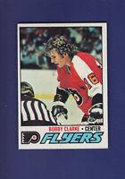 Bobby Clarke HOF 1977-78 TOPPS Hockey #115 (EXMT+) Philadelphia Flyers