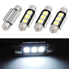 10pcs Car 36mm CANBUS Error Free 3LED 5050 SMD 6418 C5W License Plate Dome Light
