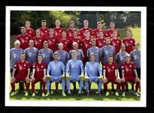 Bayern München II Mannschaftskarte 2015-16