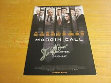 """Stanley Tucci Actor Autographed Signed 5X7 DVD Insert Sheet """"Margin Call"""""""