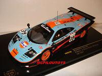 IXO LMM105  MAC LAREN F1 GTR GULF N°39 LE MANS 1997 au 1/43°