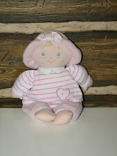 "Gund Sweet Dolly Blond Pink Baby Doll Blue Eyes  58069 EUC 11"""