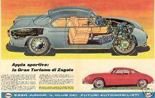 Lancia Flaminia & Lancia Appia Ads & Pics 237 Different