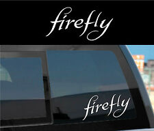 "FIREFLY SERENITY Vinyl Decal Sticker ""FIREFLY"" -cheap gift!"
