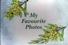 Photo Album My Favourite Photos Wattle 180 X 120mm Keepsake 36 Pictures 7x4