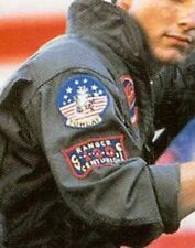 FANCY DRESS HALOWEEN PARTY AS TOP GUN MOVIE FIGHTER PILOT SHULDER 2-PATCH