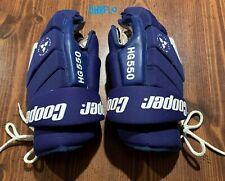 Cooper Hg550 Blue hockey gloves -3D Flex - Wow Great shape!