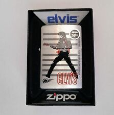 Zippo Lighter Licensed Elvis Presley Standing w/guitar Joe Petruccio design 2009