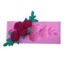 3D Rose Flower Silicone Fondant Cake Baking Decor Tools DIY Chocolate Mould Hot