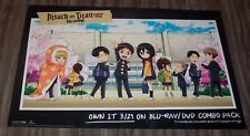 ATTACK ON TITAN Junior High NYCC Comic Con 2017 PROMO POSTER Saki Nakagawa Anime