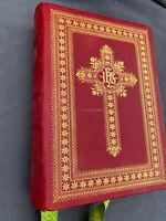 + Rare Missale Romanum, Roman Missal, c.1961 Altar sized Ribbons and Tabs