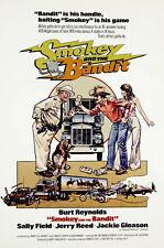 24X36Inch Art SMOKEY AND THE BANDIT Movie POSTER Burt Reynolds 70's P04